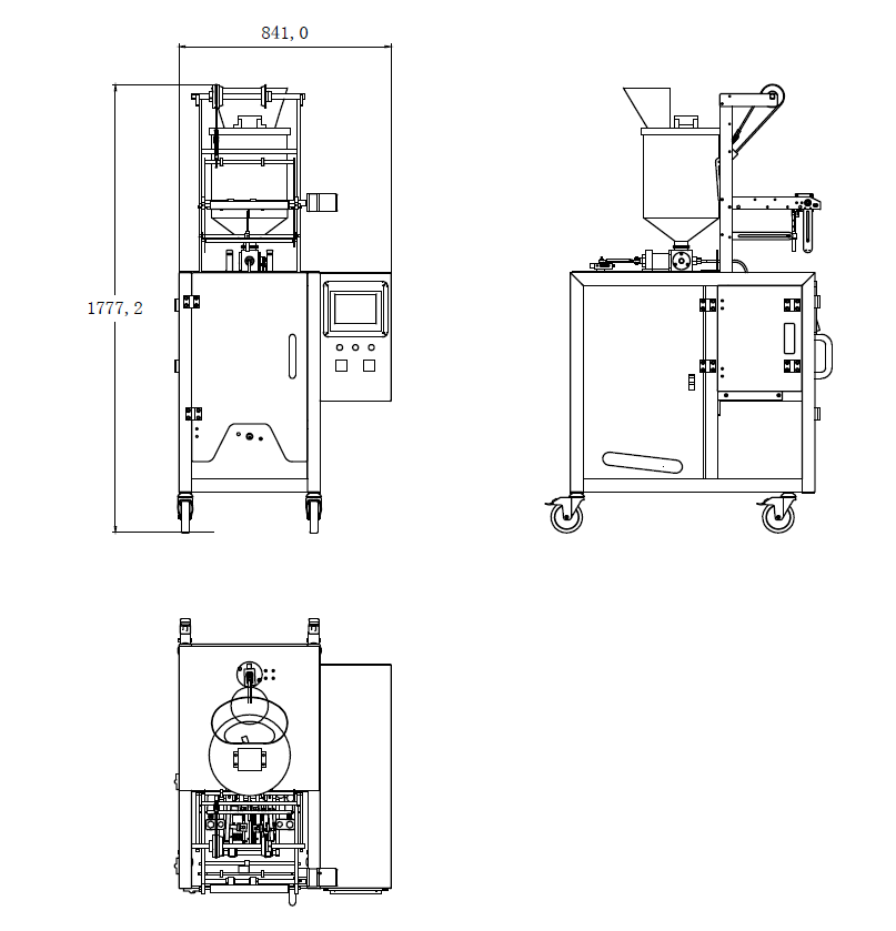 lenis-stick-pack-sachet-liquid-packing-vffs-machines