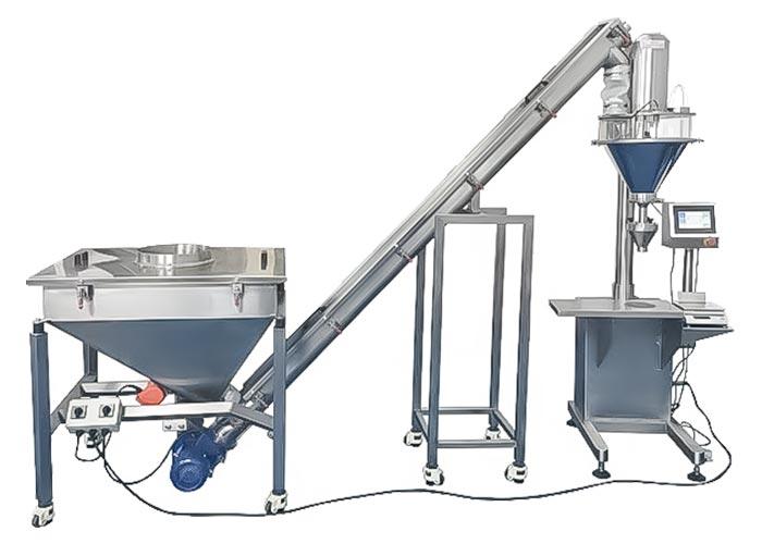 lenis-semi-automatic-auger-powder-filler-screw-conveyor