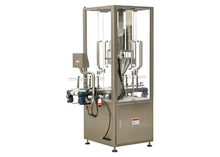 Automatic Can or Jar Powder Filling Machines