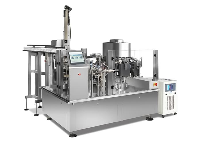 Rotary Vacuum Premade Pouch Packaging Machines